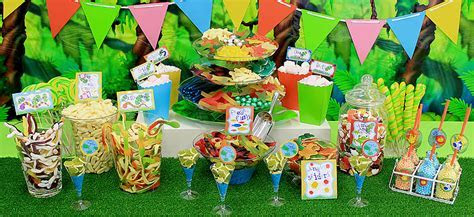 Candy Buffet Ideas ? Jungle Theme   Party Delights
