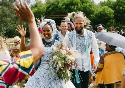 Could this be South Africa's traditional wedding of the year?
