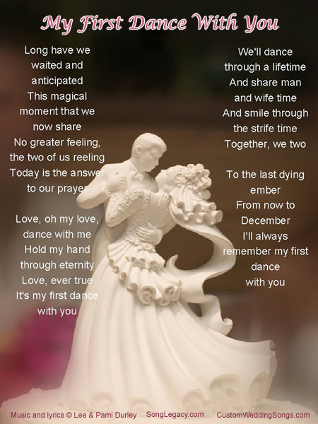 The Dream Wedding Inspirations Wedding Song Lyric And Text
