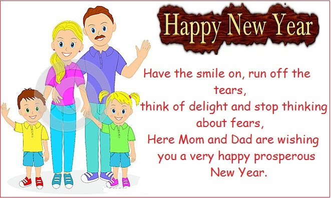 Happy New Year Wishes For Children