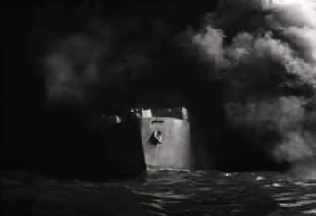 still from the movie Action in the North Atlantic