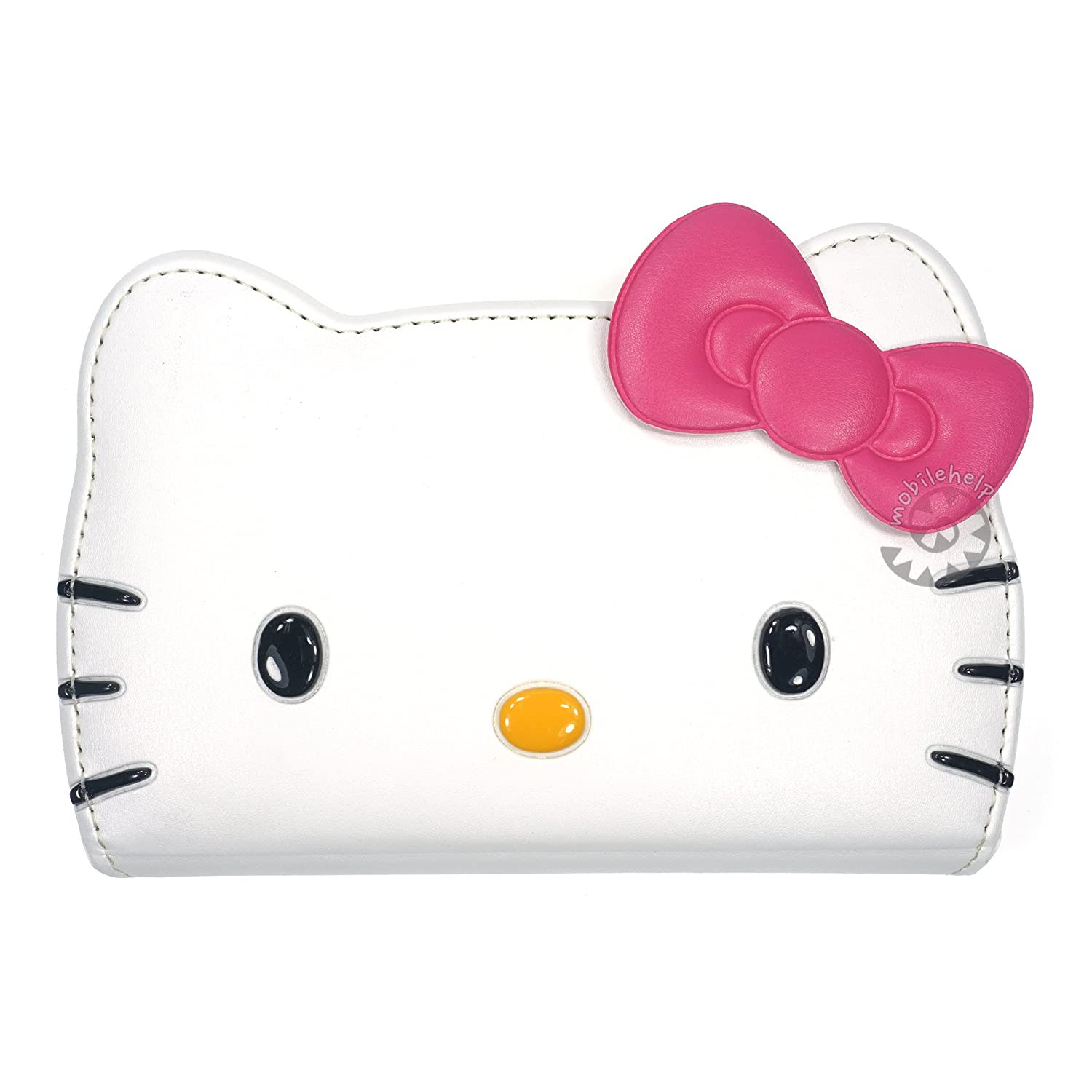 HELLO KITTY Flip Leather Wallet Case for Samsung Galaxy S6
