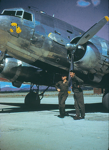 C-47 and crew