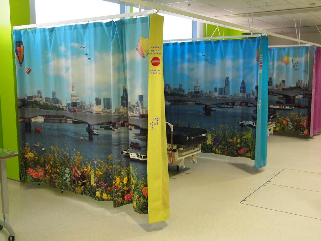 Ella Doran designs in new Royal London Children's Hospital