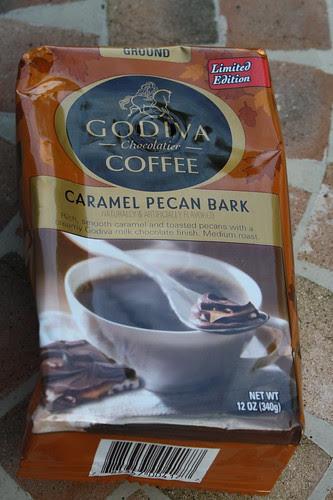 Godiva Caramel Pecan Bark