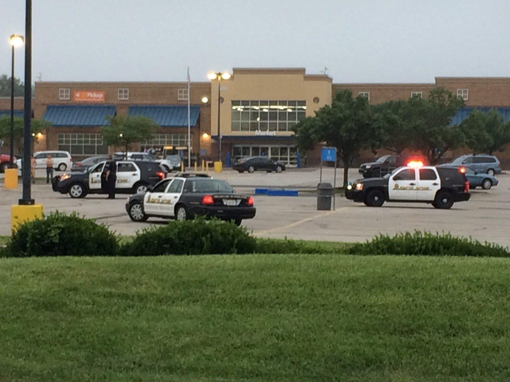 Image result for Olathe, KS: 1 dead in officer involved shooting at Olathe Walmart