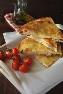 Focaccia with sourdough starter