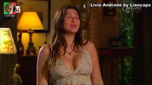 Livia Andrade sensual na novela Corações feridos