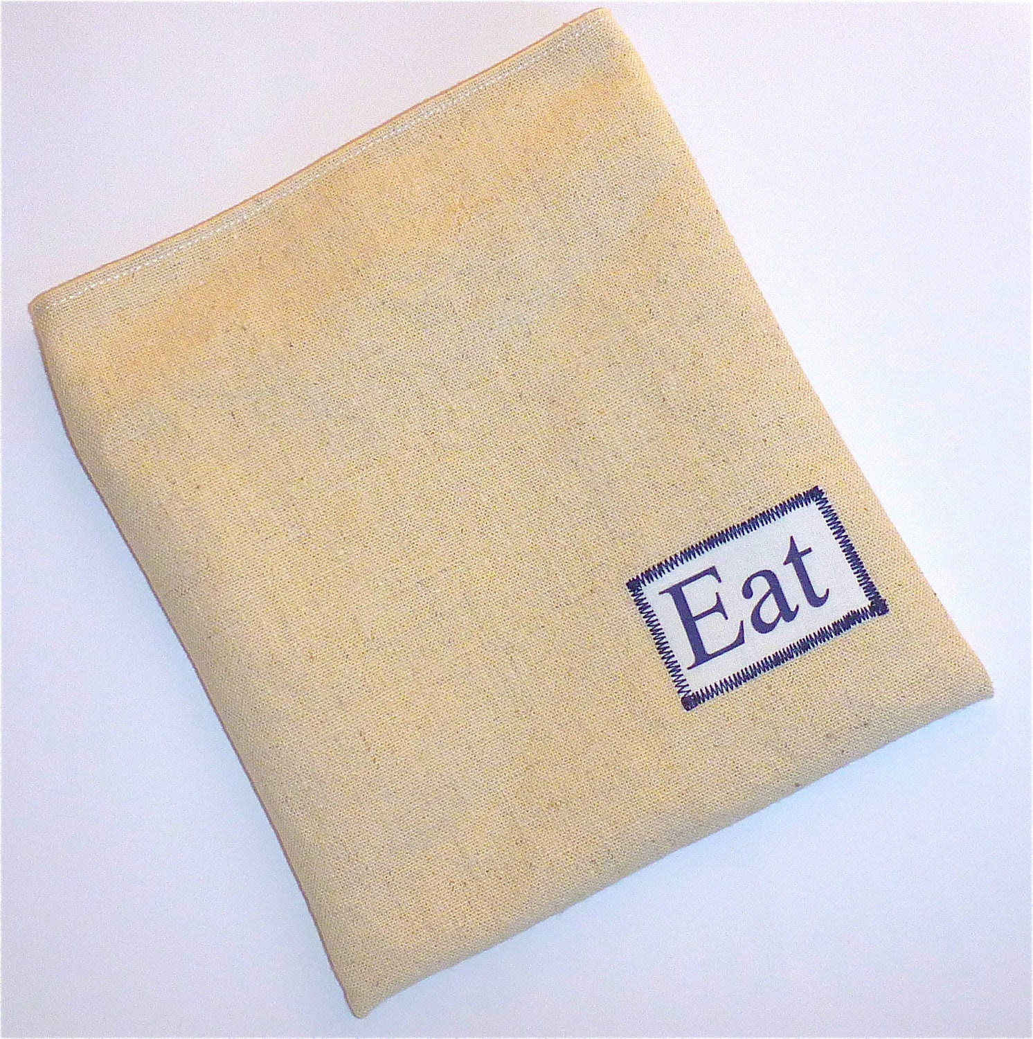 Reusable Snack Bag Sandwich Organic Cloth - EAT By BonTonsGifts on Etsy