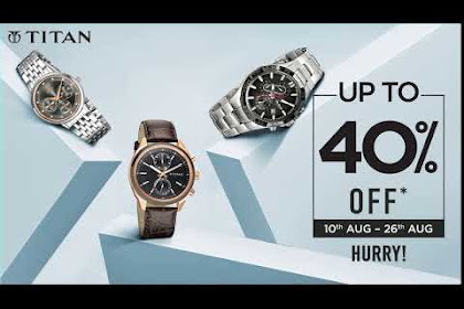 Titan Watches Offers