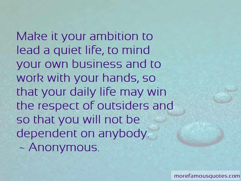 Do Your Own Business Quotes Top 38 Quotes About Do Your Own