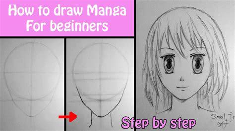draw manga girl  beginners smail jr