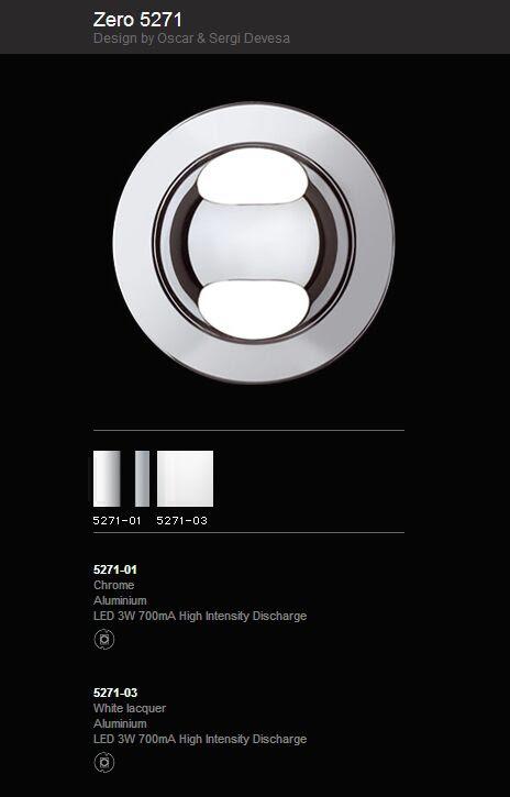 iluminacion, Zero, Led, diseño