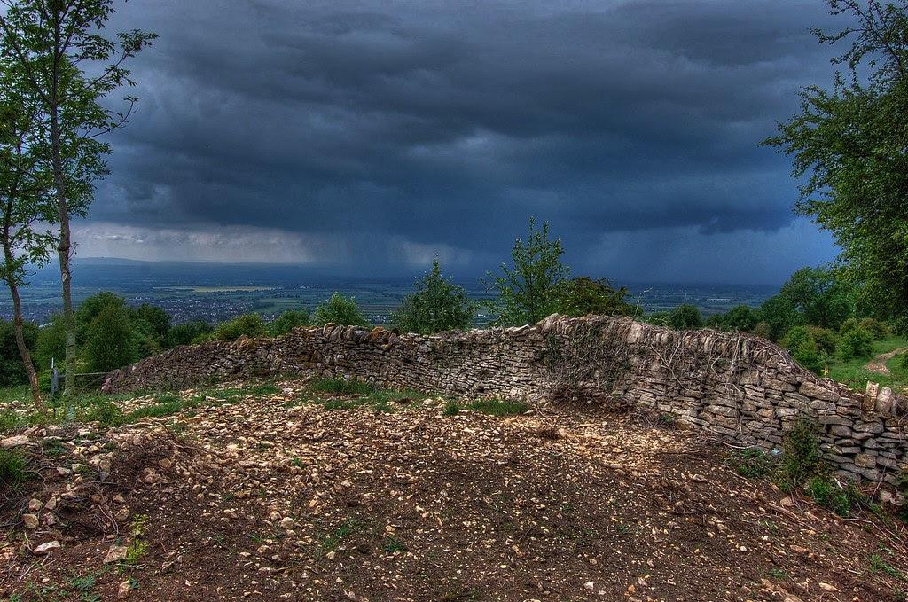 Cotswold storm