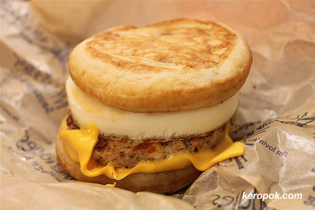 Mcgriddles Sausages and Egg