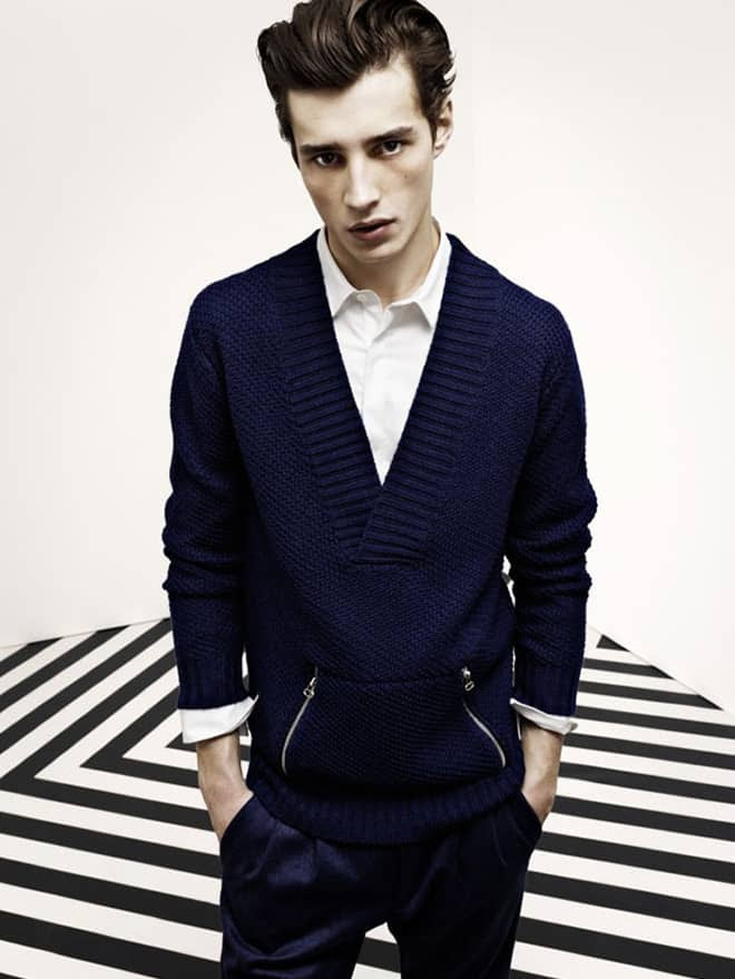 Pierre Balmain Men's AW12 Lookbook