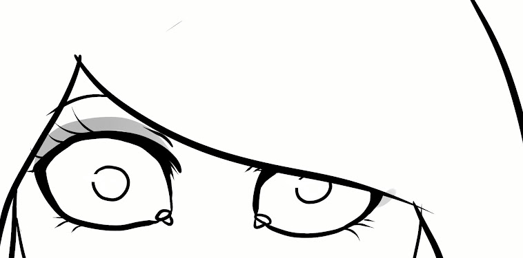 Cartoon Simple Girl Face Drawing Easy