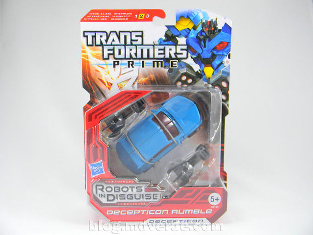 Transformers Rumble - Prime RID - caja
