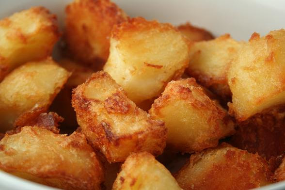 Image result for roast spuds