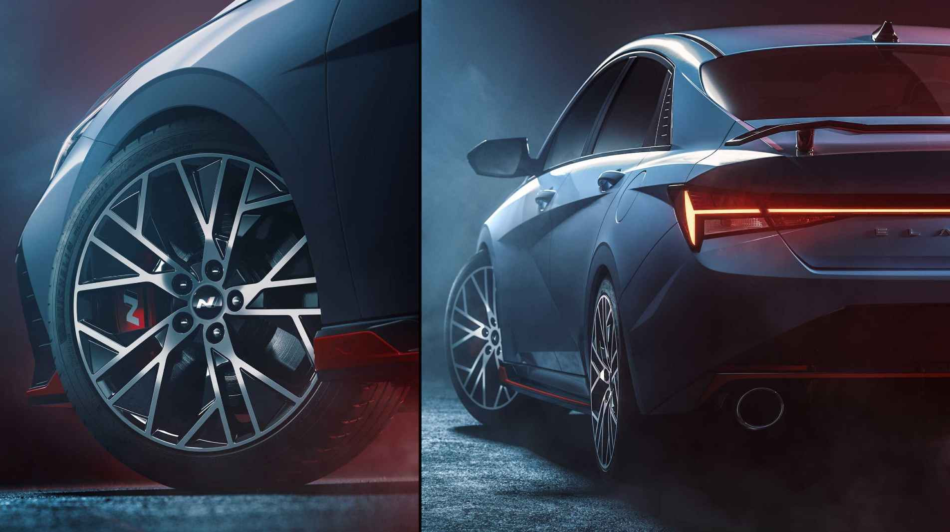 This is the first official confirmation of a full-fledged N version of the new Hyundai Elantra. Image: Hyundai