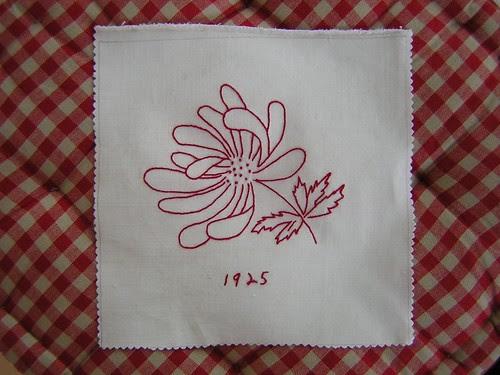 Jayne's Quilt - Flower 1925