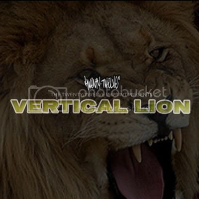 Vertical Lion