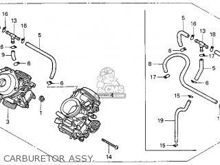 Honda Vt750c Shadow 750 1998 (w) Usa parts list ...