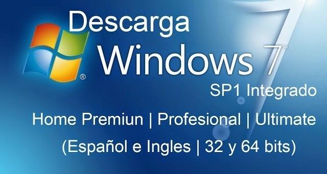 descargar windows 7 32 bits iso