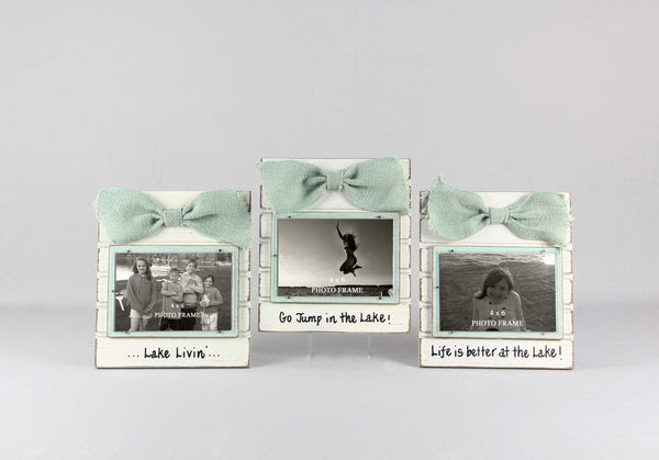 Wood 4 X 6 Picture Frame Lake Lake Escape Boutique