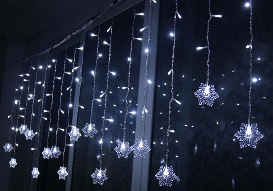 Led Gordijn Kopen : Beste kopen vakantie verlichting m led sneeuwvlok fairy