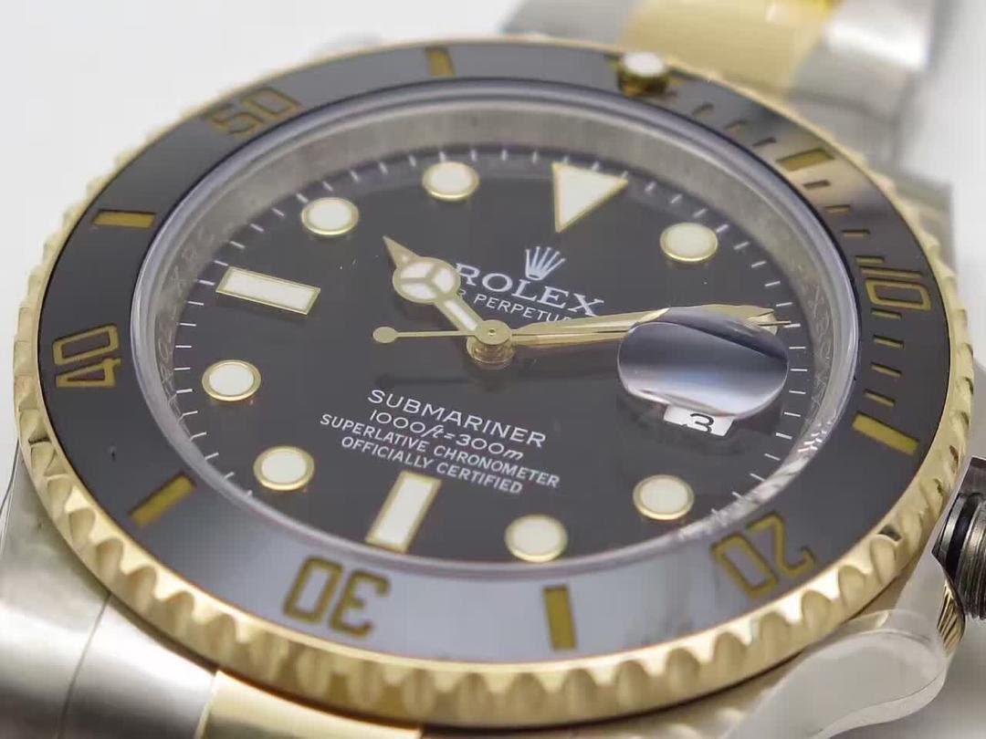 Rolex Submariner 116613 Replica Black Ceramic Bezel