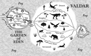 Eden, Valdar map