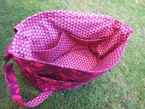changing bag inside