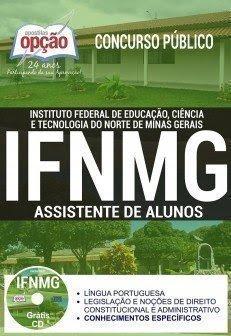 Apostila Concurso IFNMG 2017 | ASSISTENTE DE ALUNOS