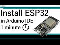 How to Install ESP32 Board in Arduino IDE (Windows, Mac OS & Linux)