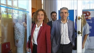Batet i Homs, en un acte de campanya
