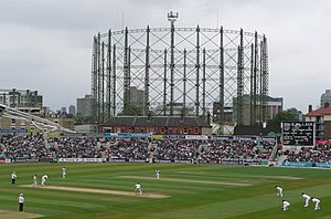 English: The Oval test match England v South A...
