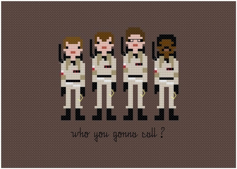 grille point croix couture geek film 03 Grilles de point de croix pour geeks