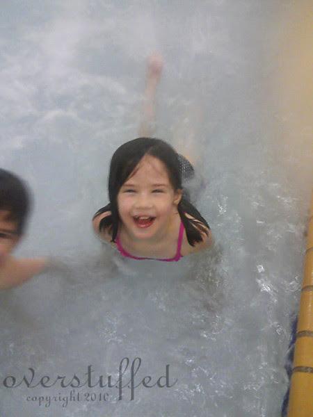 Chloe swimming