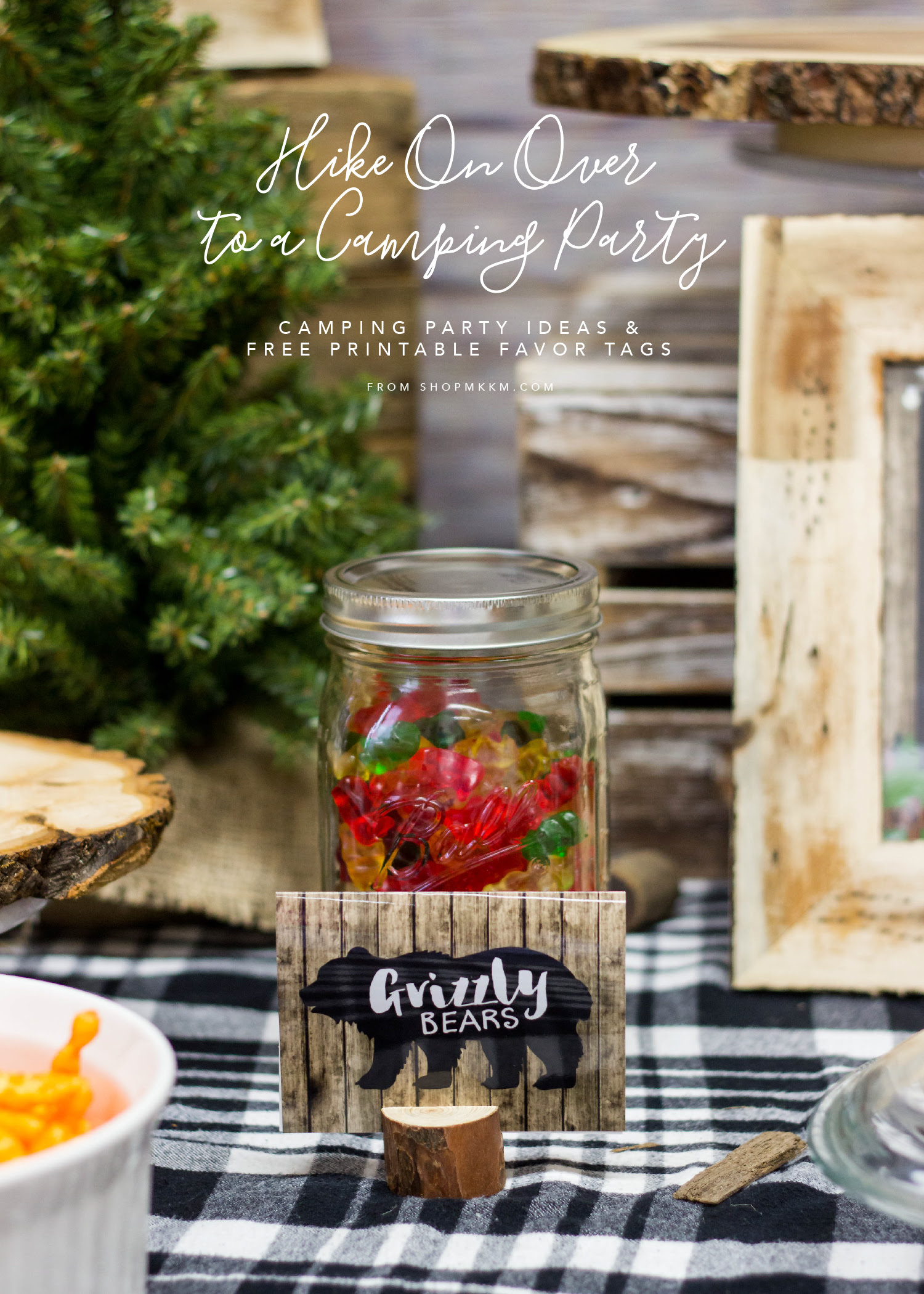 Hike On Over Camping Party Planning And Free Printable Mkkm Designs