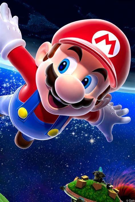 Free Download Super Mario Galaxy iPhone HD Wallpaper