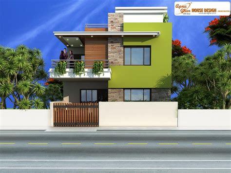 pin  apnaghar  apanghar house designs duplex house