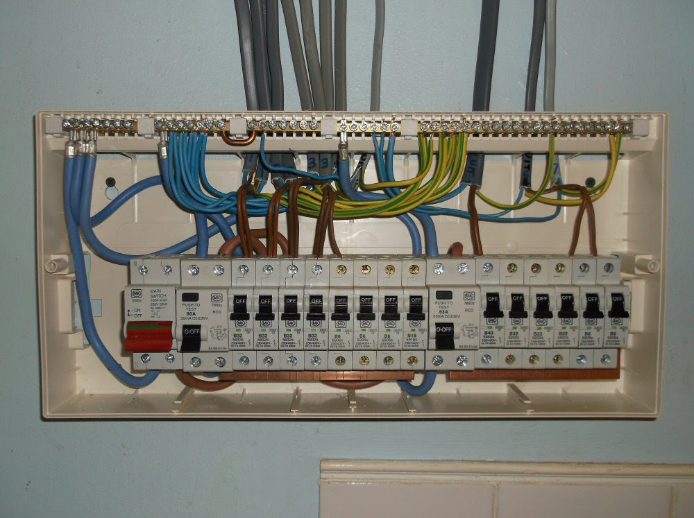 garage consumer unit wiring diagram  room pictures  all