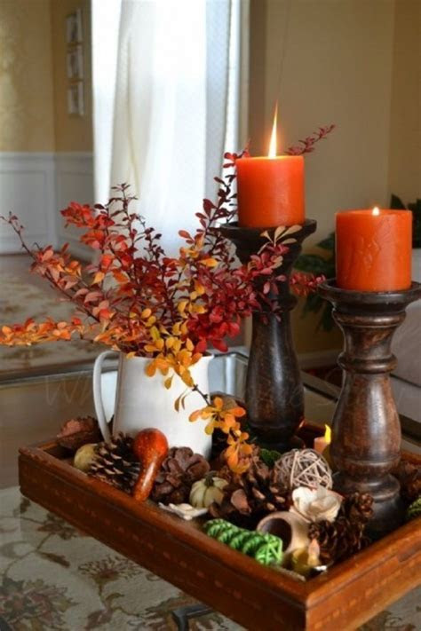 27 Cozy And Cute Candle Décor Ideas For Fall   DigsDigs