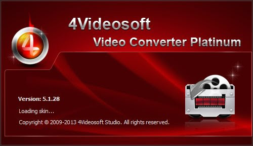 4Videosoft Video Converter Platinum 5.1.28 Portable