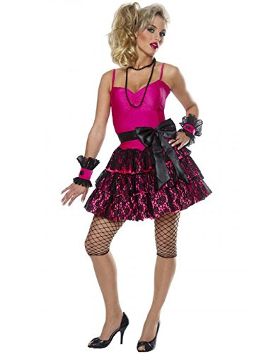 80s Party Girl Adult Costume Size