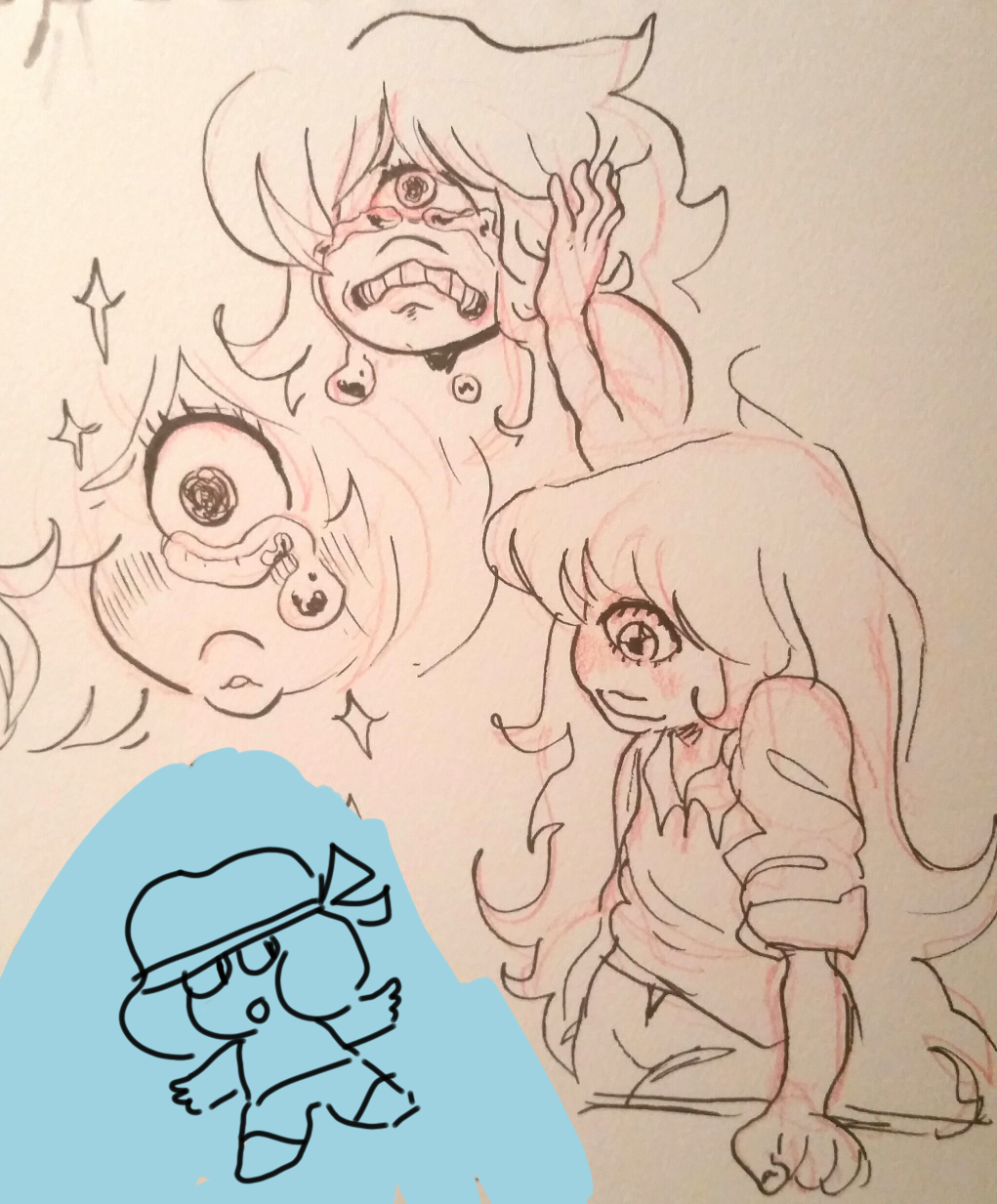 Sapphire's emotions are rare and huge