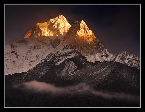 Clearing Storm over Ama Dablam by Michael Anderson por AndersonImages