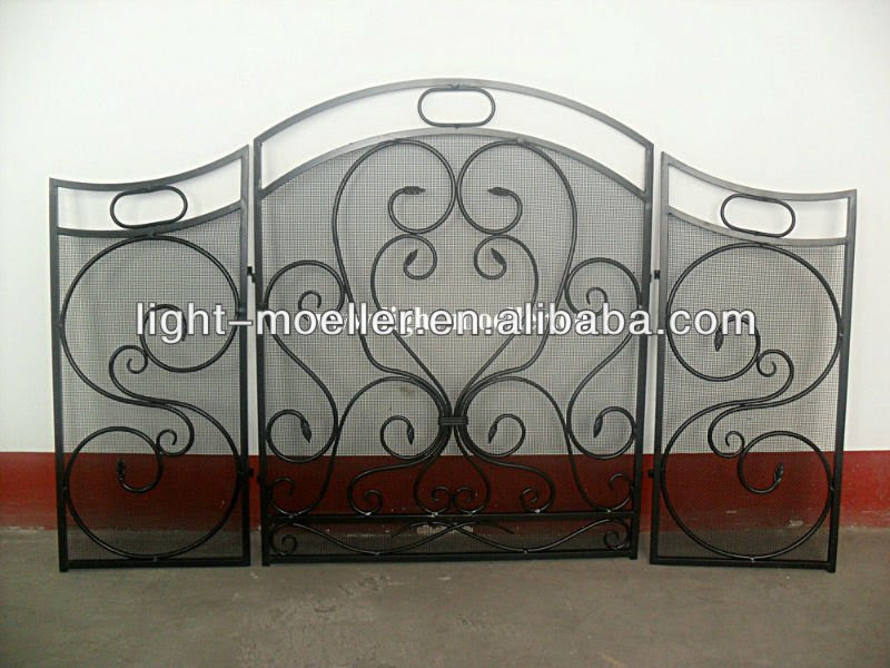 Wrought Iron Fireplace Screen Buy Decorative Wrought Iron Screen