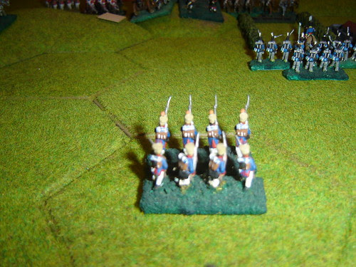 French forced to retreat from le Haye Sainte